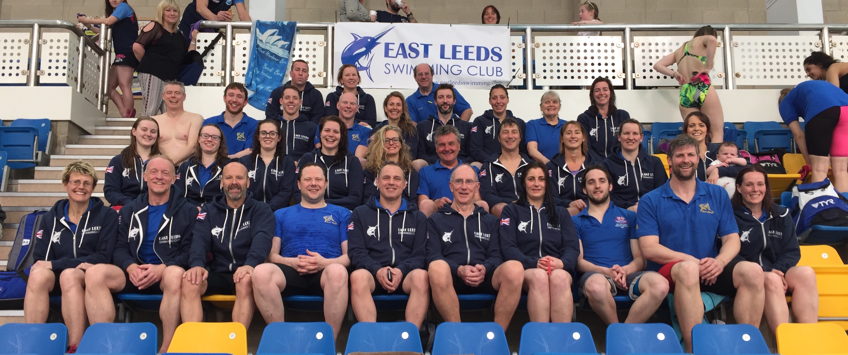 East Leeds swimmers at Yorkshire masters